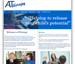 New web site for ATtherapy